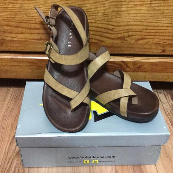 44331f5aef0 Volatile USA sandals 👡
